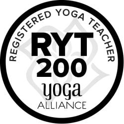 Mercedes is a registered yoga teacher with the Yoga Alliance