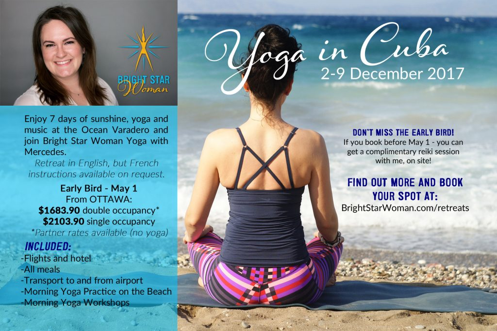 Yoga in Cuba Retreat Postcard